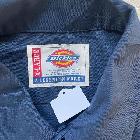 DickiesボディHOOTERSワークシャツ紺