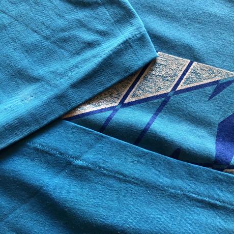 80's 銀タグ ナイキ プリントTシャツ L