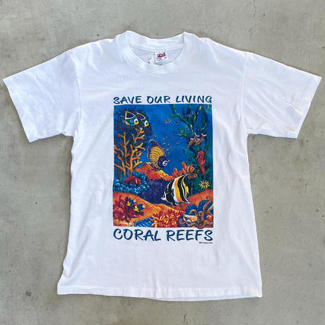 USA製 熱帯魚Tシャツ