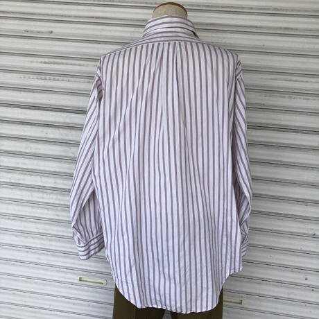 USA製Brooks Brothers L/Sストライプシャツ