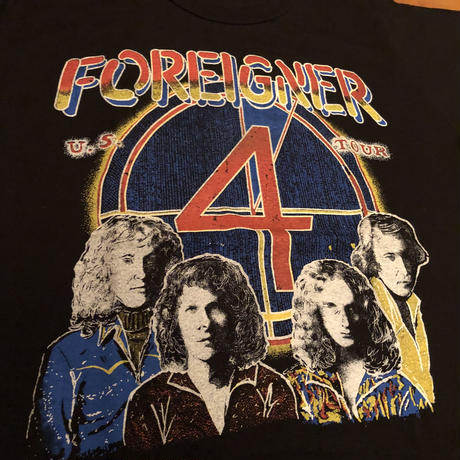 1980's FOREIGNER U.S.TOUR