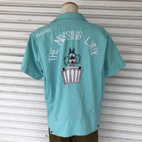 1970年代Vintageボーリングシャツ 〝THE MISSING LYNX〟