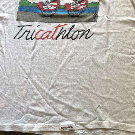 Kliban cat Tシャツ〝TRI CAT HLON〟