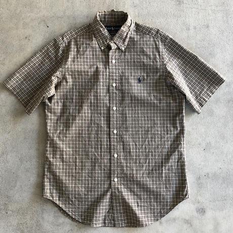 Ralph Lauren  半袖チェックシャツ〝CLASSIC FIT〟S
