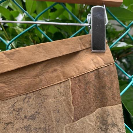 USA製カントリー調リーフスカート