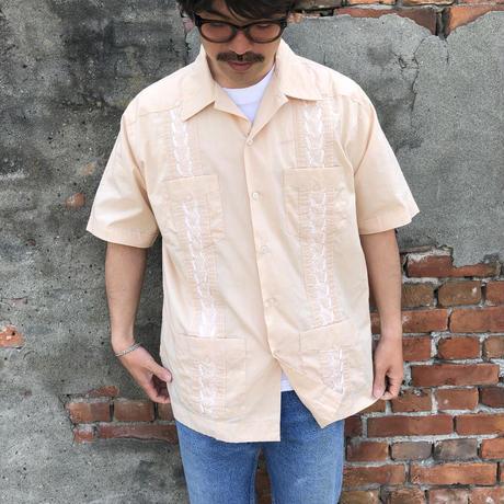 半袖キューバシャツ