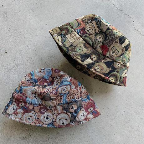 【NEW】ゴブラン織風ハット