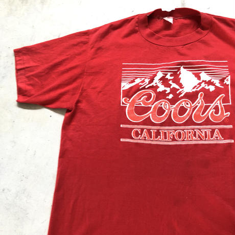 80's COORS🍺プリントTシャツ  XL
