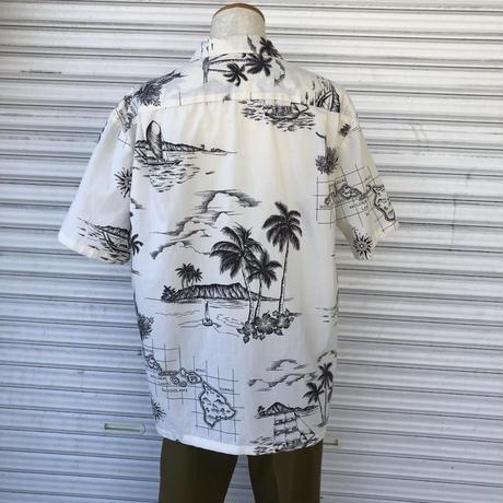 Hawaii総柄シャツ