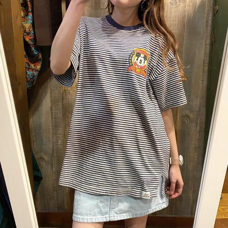 USA製ミッキーボーダーTシャツ