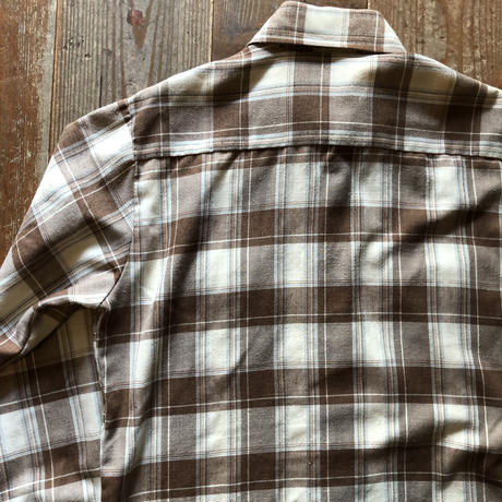 70年代リーバイス  BIG E 長袖チェックシャツ  M ②