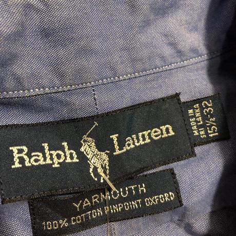 RALPH LAUREN ボタンダウンシャツ〝YARMOUTH〟
