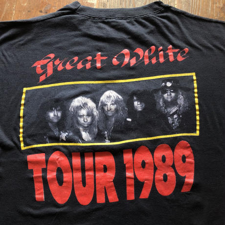 Greate White  TOUR 1989