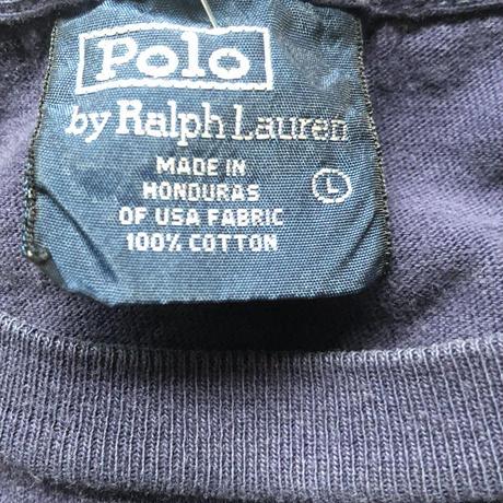 POLO でかロゴTシャツ L