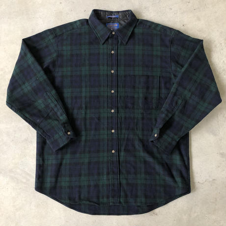 USA製 PENDLETON ウールチェックシャツ