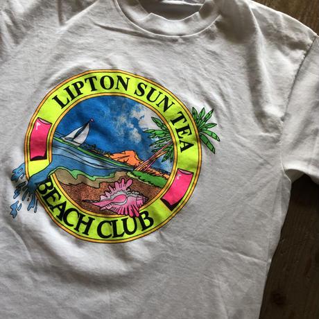 〜90's LIPTON SUN TEA BEACH CLUB Tシャツ