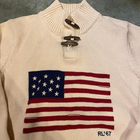 Polo Ralph Lauren星条旗ニット