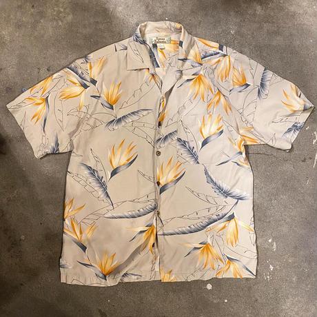 シルクハワイアンシャツ