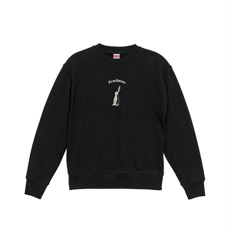 """【New】Heavy Weight Sweat """"Penguin and chill""""  -Black-"""