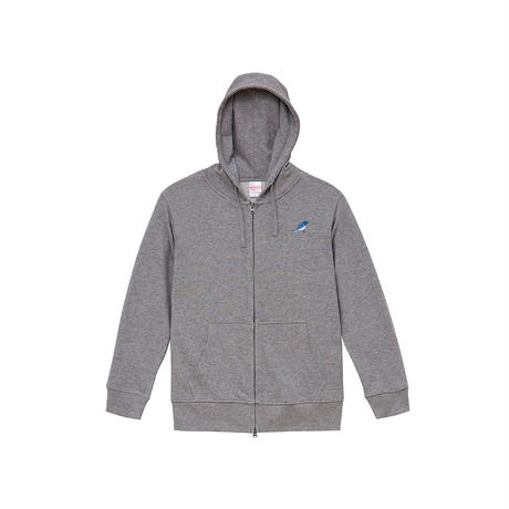 """""""Full Zip Hoodie"""" Predawn 10th Anniversary  Special Goods [Gray / Navy]"""