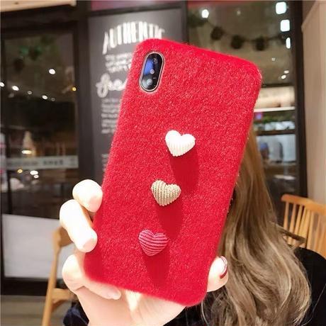 ハート アイフォンケース スマホケース 韓国 かわいい 人気 おすすめ おしゃれ 女子 韓国女子 赤 6 6s 7plus 8plus X XS MAX iPhone6s iPhone8
