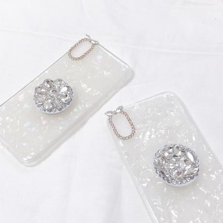 シェル iphoneケース スマホケース アイフォンケース 韓国 カバー 6 7 8 X xsmax xr かわいい 安い max plus ケース 流行り 女子 キラキラ リング付き 大人可愛い