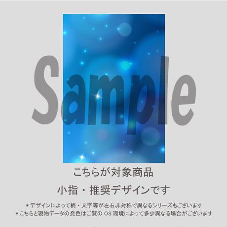 【小指用】光と雪の結晶(エレガントブルー)/804