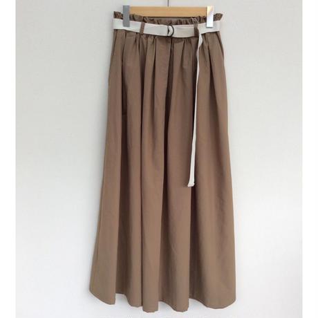 vent blanc タック&ギャザースカート
