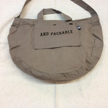 【PACKABLE】サークルバッグ
