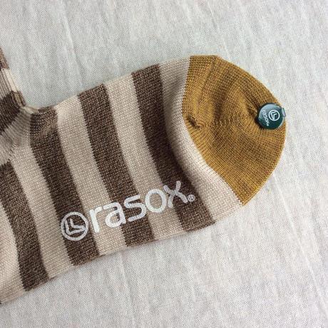 rasox メリノボーダー・クルー