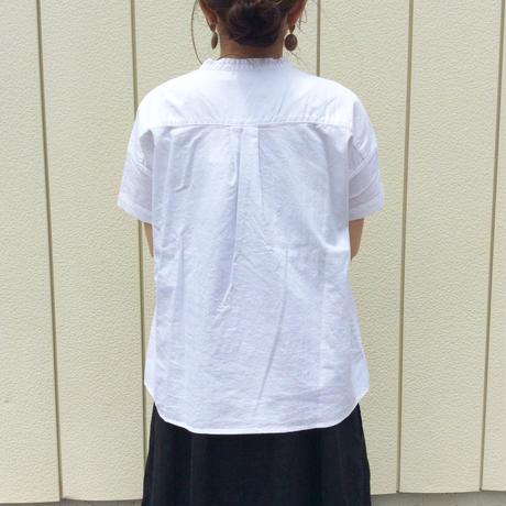 SUN VALLEY オックス日本製品染スタンドシャツ