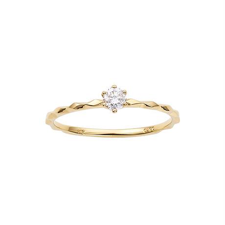 K10YG ダイヤモンドリング