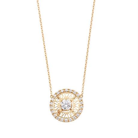 K18YG H&C ダイヤモンドネックレス