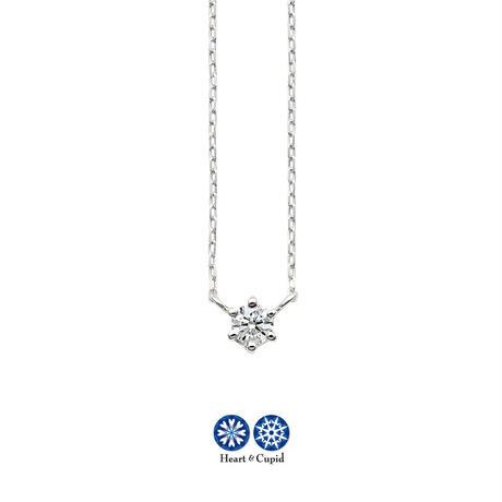 K10WG H&C ダイヤモンドネックレス