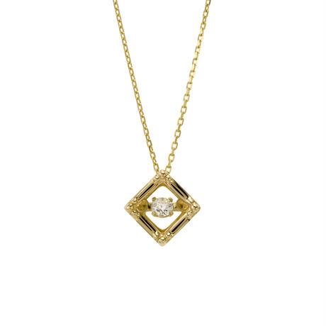 ダンシングストーン (H&Cダイヤモンド) ネックレス