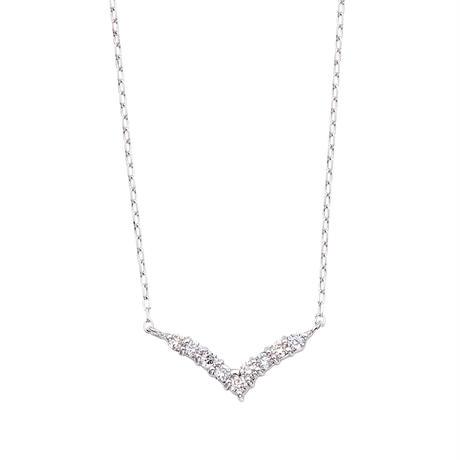 PT850/PT900ダイヤモンドネックレス