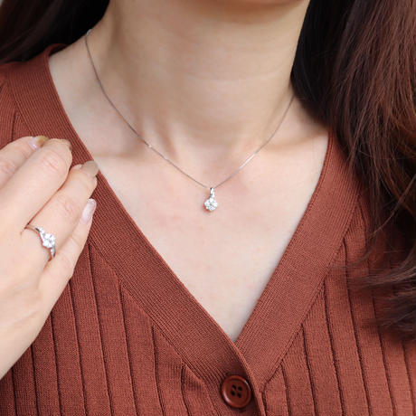 PT850/PT900 ダイヤモンドネックレス
