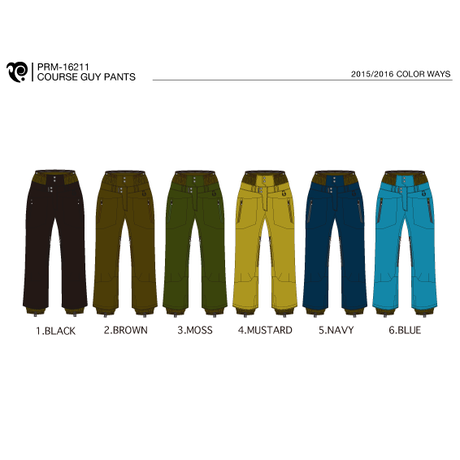 COURSE GUY PANTS (15/16 MODEL)