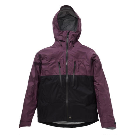 SMILE JACKET (17/18 MODEL)  Color:PLUM×BLACK / M