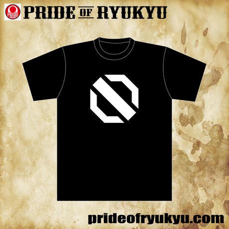 NEW octagon LOG Tシャツ  black