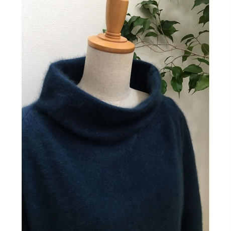 【限定アイテム】raccoon fur Tunic  navy