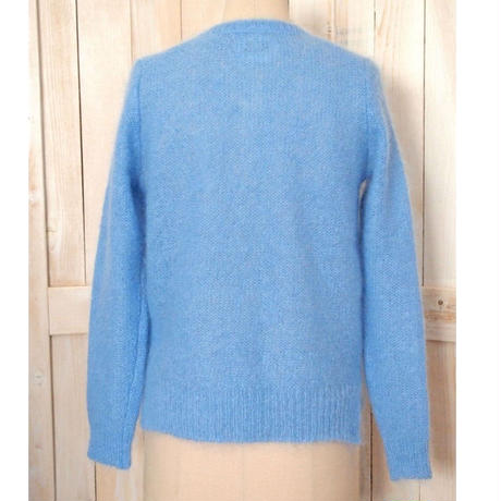 fur mohair bijou Cardigan blue