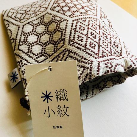 巾着袋小 米織小紋 米沢織*small pouch Japanese textile €13