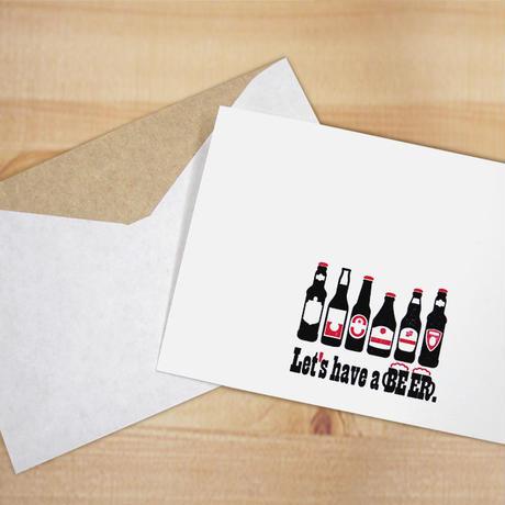 TKL012 ポストカード ビール