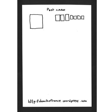013 damik●ポストカード