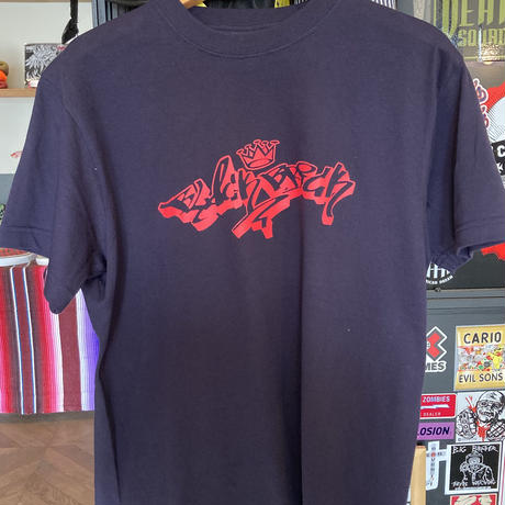 BLACK BRICKxSLINKY RECORDS Wネーム FUCK COMMON SOCIETY Tシャツ