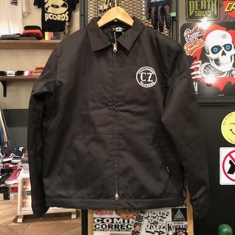 Cycle Zombies x Bluco BUY SELL TRADE ワークジャケット Blk