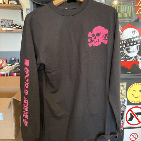 Cycle Zombies BASE COAT L/S Tシャツ