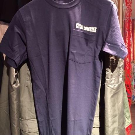 Cycle Zombies CHAMPION ポケットTシャツ