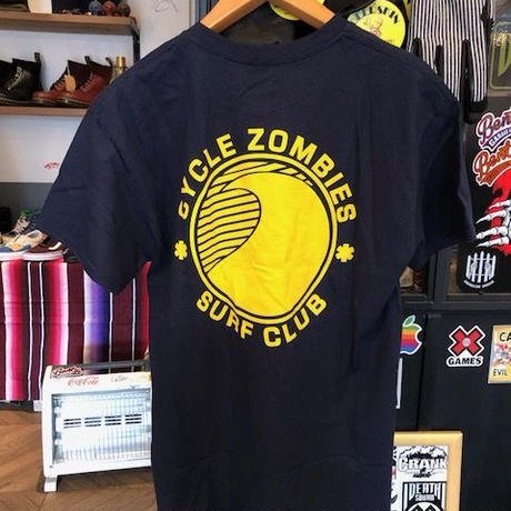 Cycle zombies SURF CLUB Tシャツ